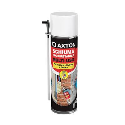 Schiuma espansa poliuretanica AXTON   bianco per porta 0,5 ml