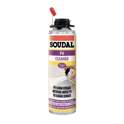 Detergente per schiuma e pistola SOUDAL Pulitore trasparente 150ml