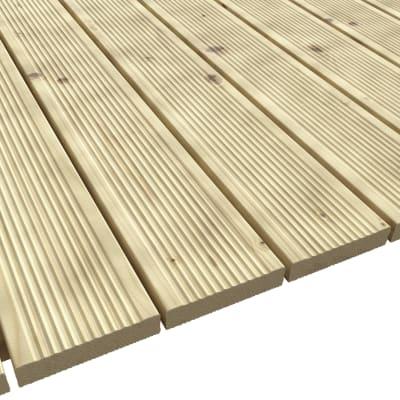 Pavimento per gazebo L 314 x P 414x H 3.5 cm