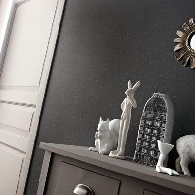 Pittura decorativa ID 2 l nero studio effetto paillette