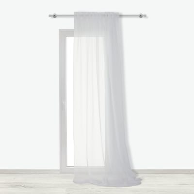 Tenda INSPIRE Lolly bianco fettuccia 140x280 cm