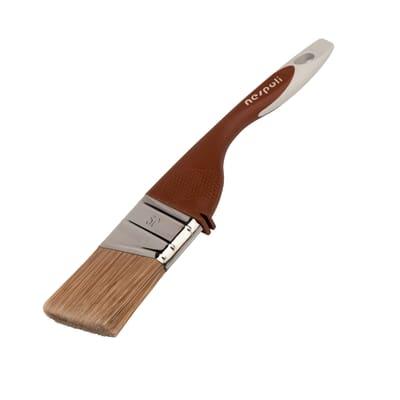 Pennello Piatto Precision 20 mm per Olio, vernice, impregnante legno NESPOLI