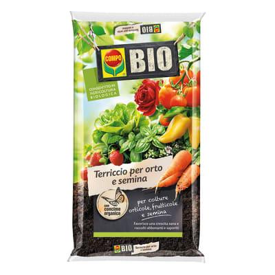 Terriccio COMPO Orto semina bio 80 L