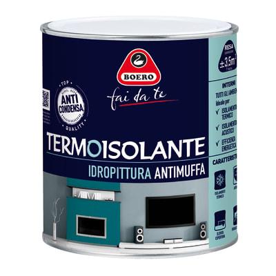Pittura termoisolante Boero bianco 0.75 L