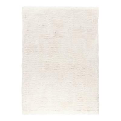 Tappeto Shaggy benyurain bianco 160x230 cm