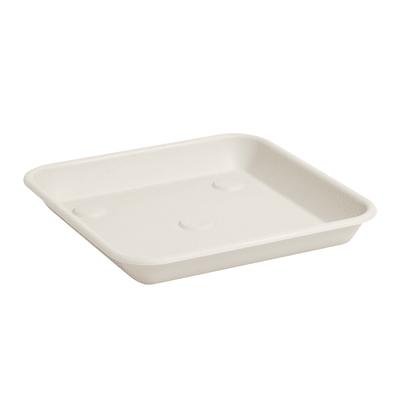 Sottovaso in plastica colore bianco P 23 x L 23 cm