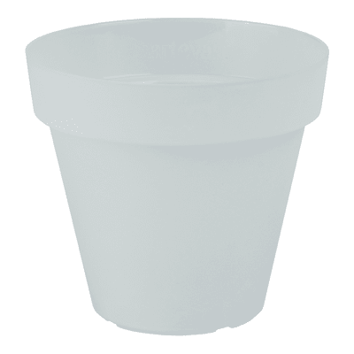 Vaso Capri ARTEVASI in polipropilene colore trasparente H 15.7 cm, Ø 18 cm