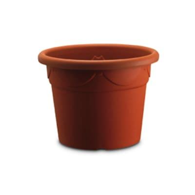 Vaso Corinto in plastica colore cotto H 50 cm, Ø 70 cm