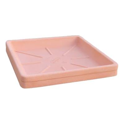 Sottovaso per vaso da fiori in plastica colore cotto P 42 x L 42 cm