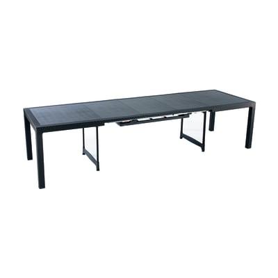 Tavolo da giardino allungabile con piano in resina L 162 x P 97 cm