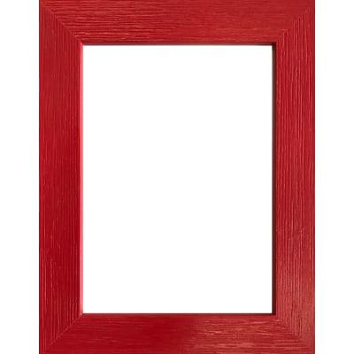 Cornice Riviera rosso per foto da 15X20 cm