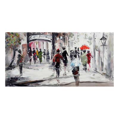 Quadro dipinto a mano Astratto2 120x60 cm prezzi e offerte ...