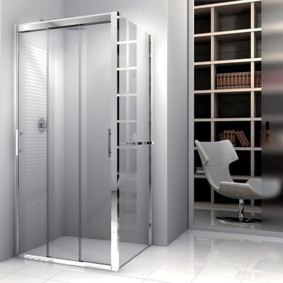 Porta Scorrevole A Tre Ante.Porta Doccia 3 Ante Scorrevoli Elyt 170 Cm H 190 Cm In Vetro
