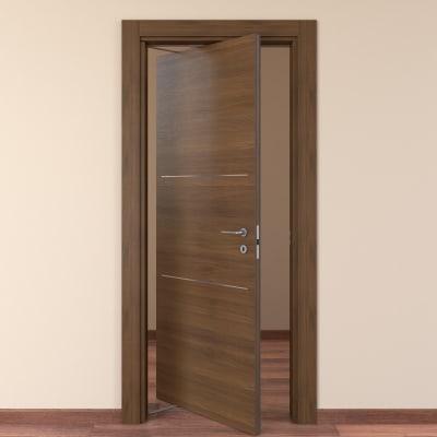 Porta rototraslante Tussauds cacao L 70 x H 210 cm sinistra