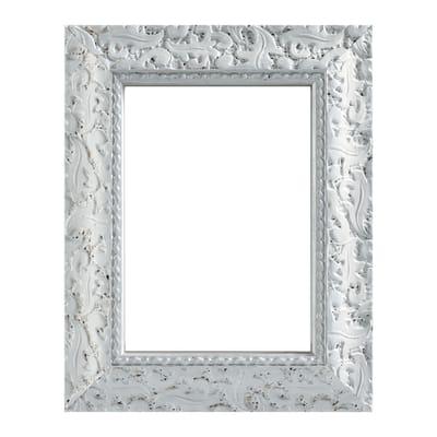 Cornice Ralph bianco per foto da 21x29.7 (A4) cm