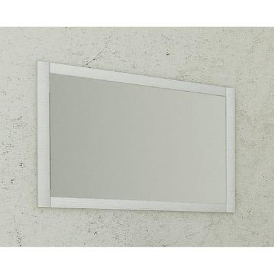 Specchio con cornice bagno rettangolare Santorini L 90 x H 60 cm