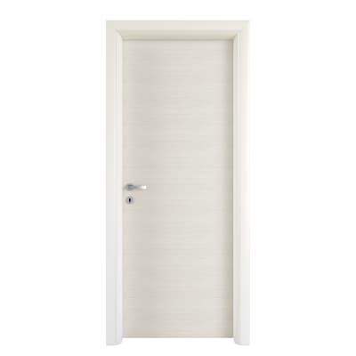Porta a battente Touch bianco matrix L 80 x H 210 cm reversibile