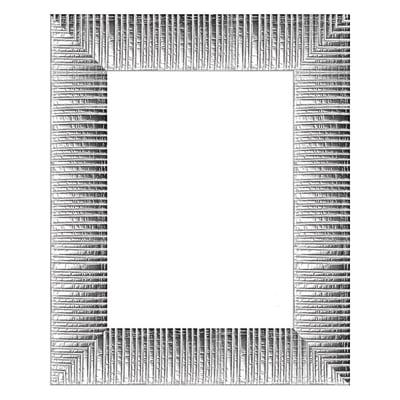 Cornice Soho argento per foto da 20x20 cm