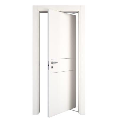 Porta rototraslante Two Lines bianco L 80 x H 210 cm destra