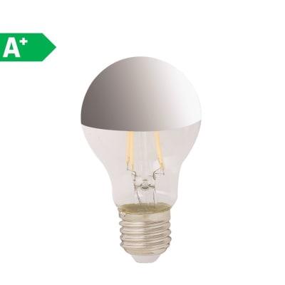 Lampadina LED filamento, E27, Goccia, Trasparente, Luce naturale, 7W=680LM (equiv 40 W), 360°