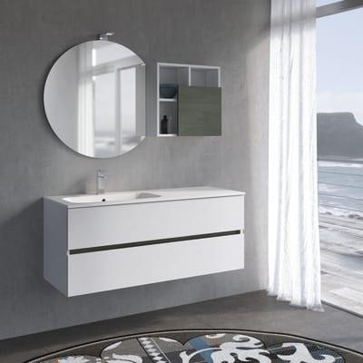 Mobile bagno Share bianco L 120 cm