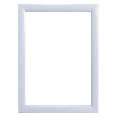 Cornice INSPIRE Bomber bianco per foto da 10X15 cm