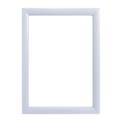 Cornice INSPIRE Bomber bianco per foto da 13X18 cm