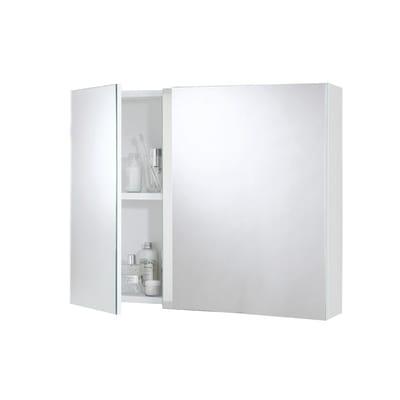 Specchio contenitore senza luce Key L 70 x P 15 x H 62 cm bianco