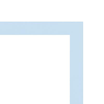 Cornice INSPIRE Vik azzurro per foto da 21X29,7 cm