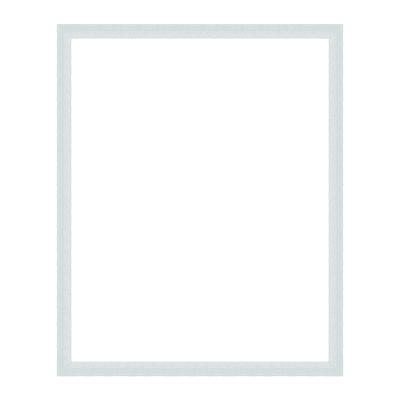 Cornice puzzle 2000 pezzi bianco per foto da 75.4x98.4 cm
