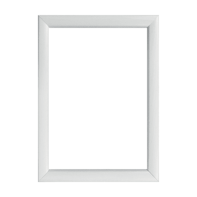 Cornice INSPIRE Bomber bianco per foto da 20X30 cm