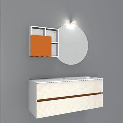 Mobile bagno Share marrone L 121 cm