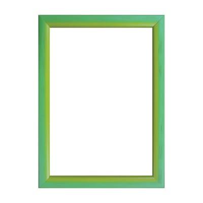 Cornice INSPIRE Bicolor verde / giallo per foto da 20x30 cm