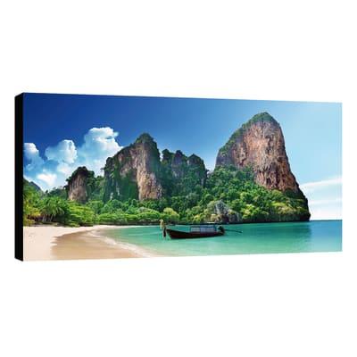 Quadro su tela Canvas Wow Paradise 75x145 cm