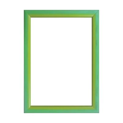 Cornice INSPIRE Bicolor verde / giallo per foto da 15x20 cm