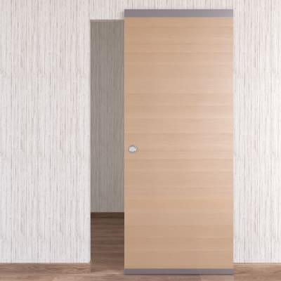 Porta scorrevole con binario esterno Sheraton Easy in legno Binario nascosto L 91 x H 221 cm