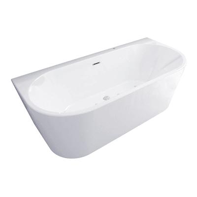 Vasca idromassaggio rettangolare bianco ,170, 80 cm, 8 bocchette, SANYCCES