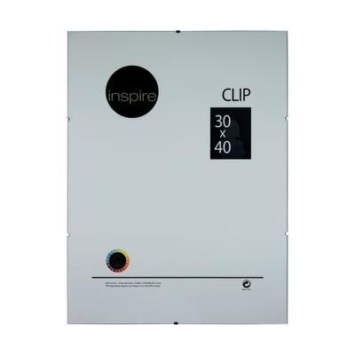 Portafoto INSPIRE Clip trasparente per foto da 30x40 cm