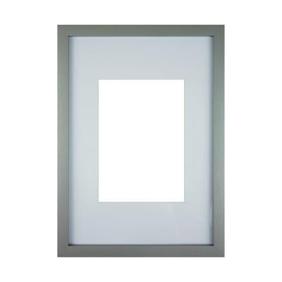 Cornice con passe-partout Inspire milo grigio 21x29.7 cm