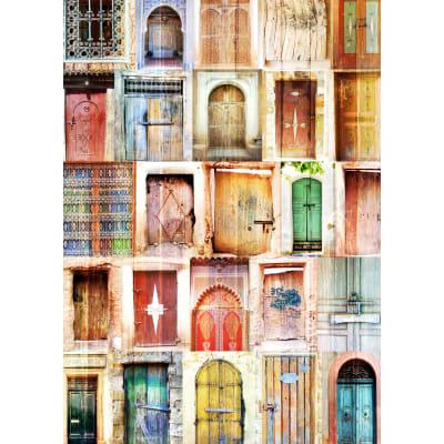 Pannello decorativo Porta Marocco 65x97 cm