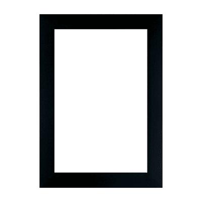 Cornice a giorno INSPIRE Milo nero per foto da 10x15 cm