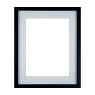 Cornice con passe-partout Inspire milo nero 24x30 cm