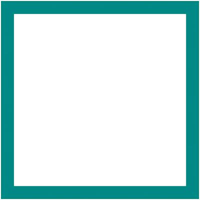 Cornice INSPIRE Vik blu baltico per foto da 20X30 cm
