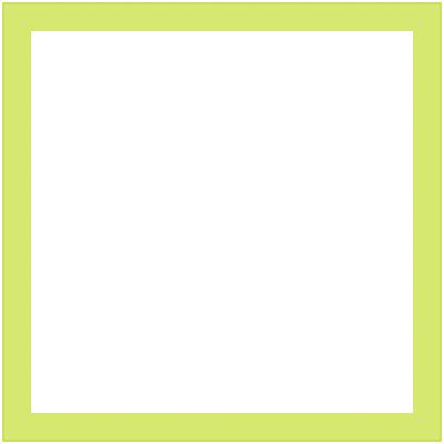 Cornice INSPIRE Vik verde per foto da 20x20 cm