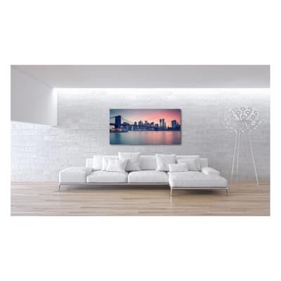 Quadro su tela Sunset In Ny 90x190 cm