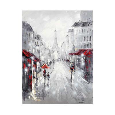 Quadro dipinto a mano Boulevard 60x90 cm prezzi e offerte ...