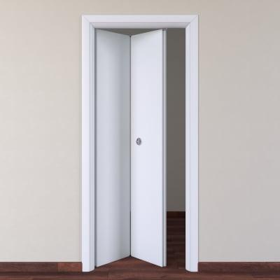 Porta pieghevole Pearl bianco L 70 x H 210 cm sinistra