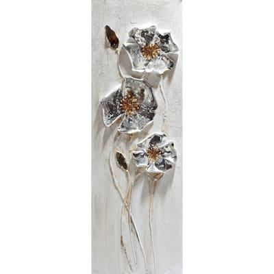 Immagine Fiori Metallici 90x30 cm