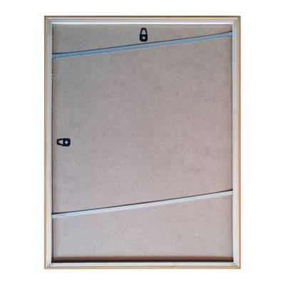 Cornice INSPIRE Lela bianco per foto da 35x50 cm