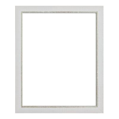 Cornice Lela bianco per foto da 40X60 cm
